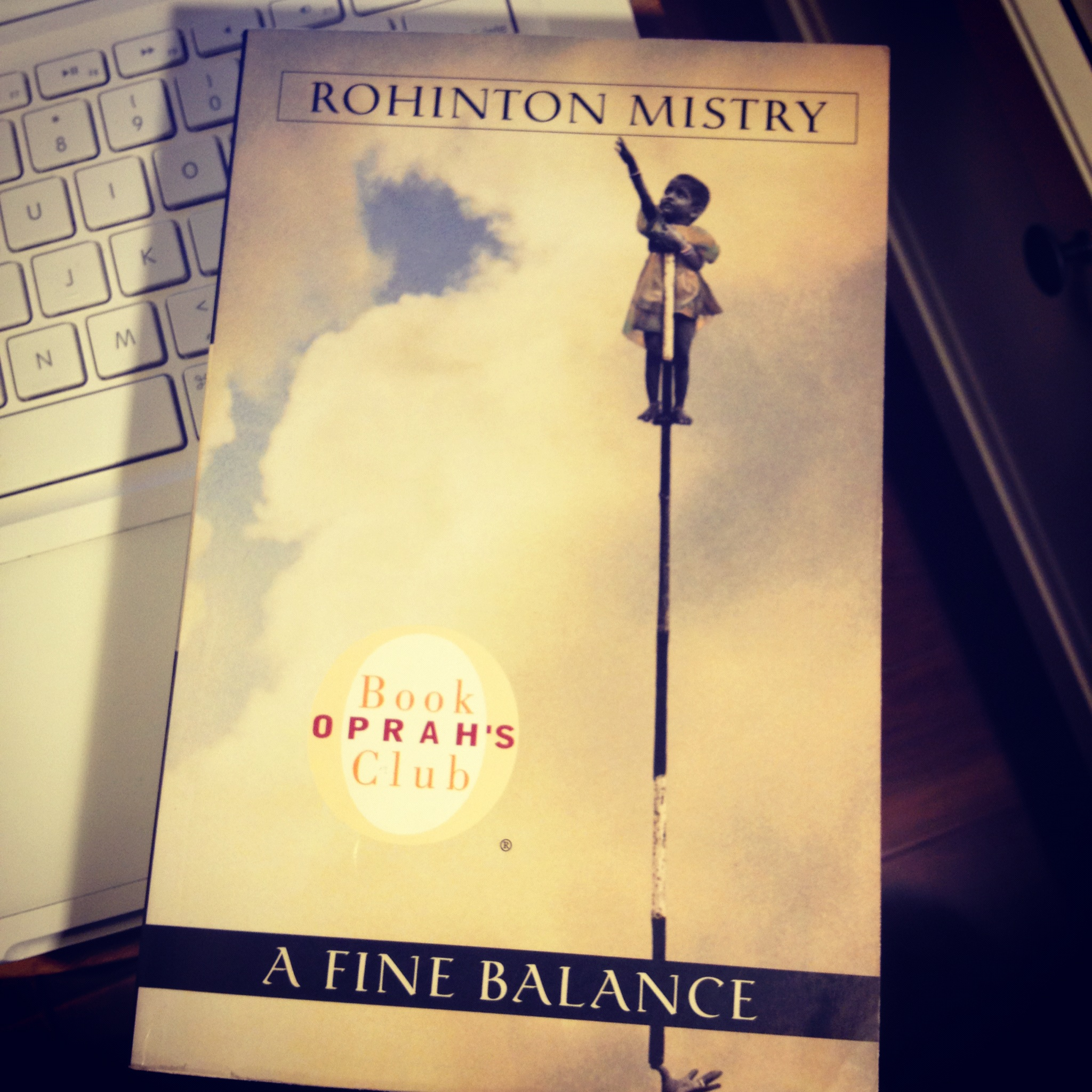 a fine balance rohinton mistry A fine balance about the book a fine balance by rohinton mistry  rohinton mistry creates unforgettable characters and vast social panoramas on the scale of dickens and victor hugo, and he shares, as well, their remarkable generosity of spirit.